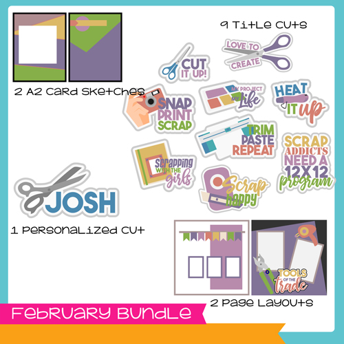 February Bundle - Scrapping