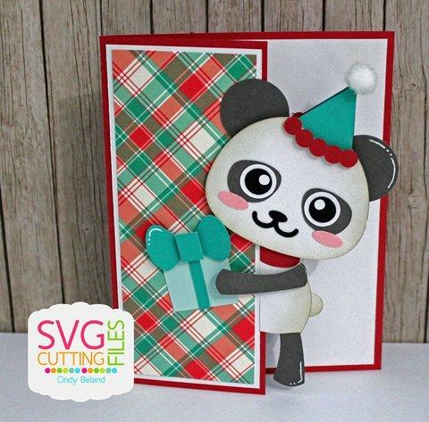 Peeker Panda Card