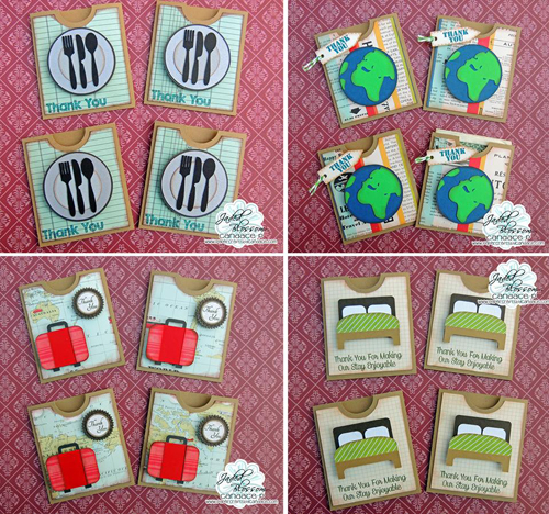 Tip Pockets (set of 7)