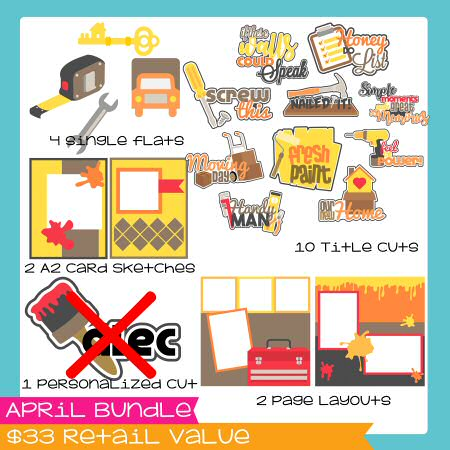 April Bundle -Moving -Home
