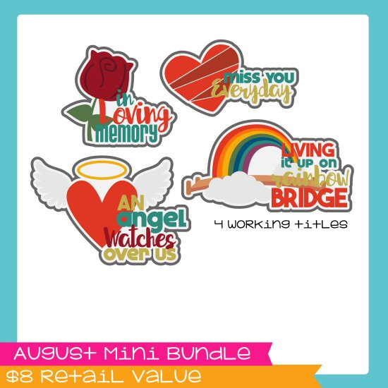 August Mini Bundle - In Memory