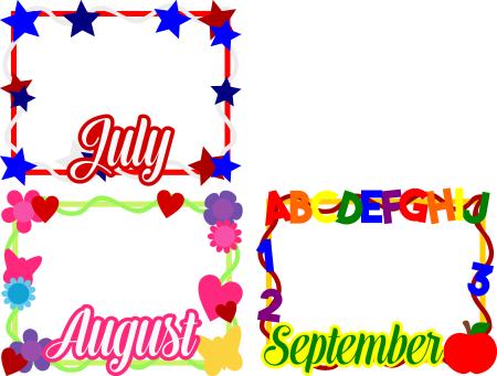 Calendar Card Pack 3