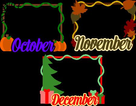 Calendar Card Pack 4