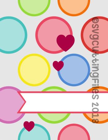 Circle Hearts Card