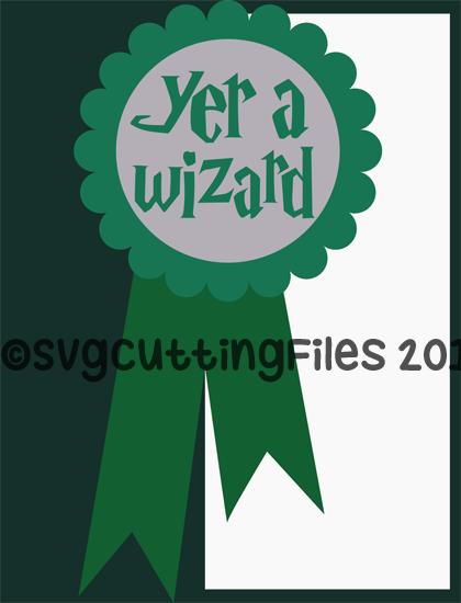 Yer A Wizard Card
