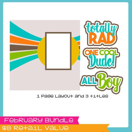 February Mini Bundle - Boys
