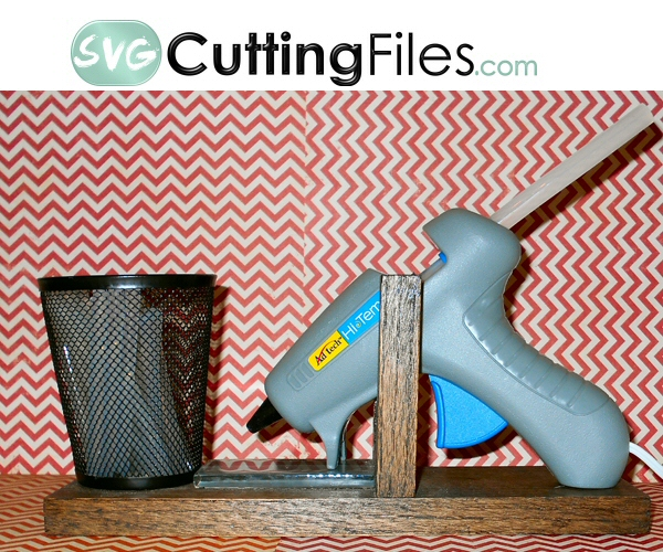 Glue Gun Holder -