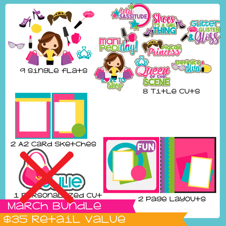 March Bundle  GIRLS