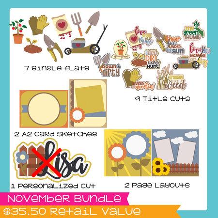 November Bundle- Gardening