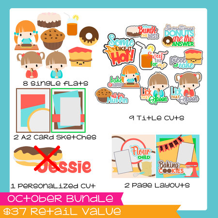 October Bundle 2017 Baked Goods