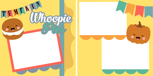 Whoopie Pies - 8 X 8 layout