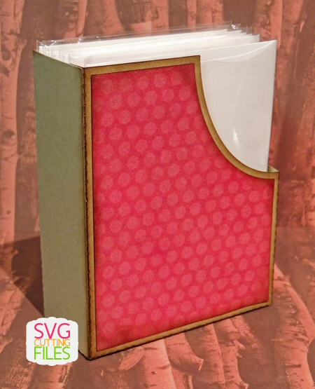 A2 Arched Card Box