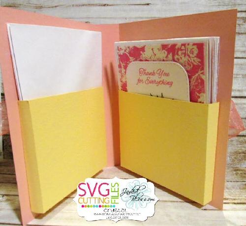 A2 Card Folder Holder