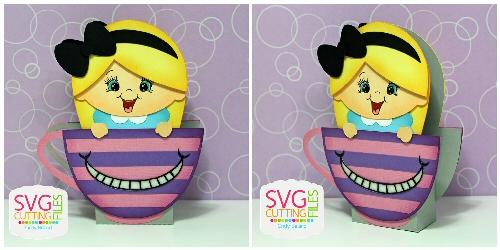 Alice teacup Box