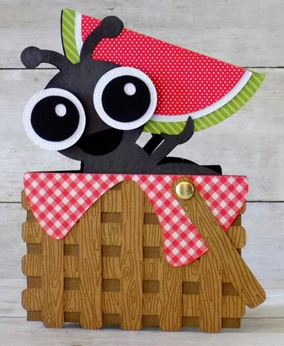 Ant Picnic Basket Card