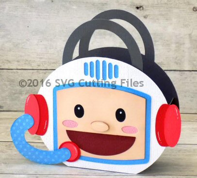 Astronaut Head Bag