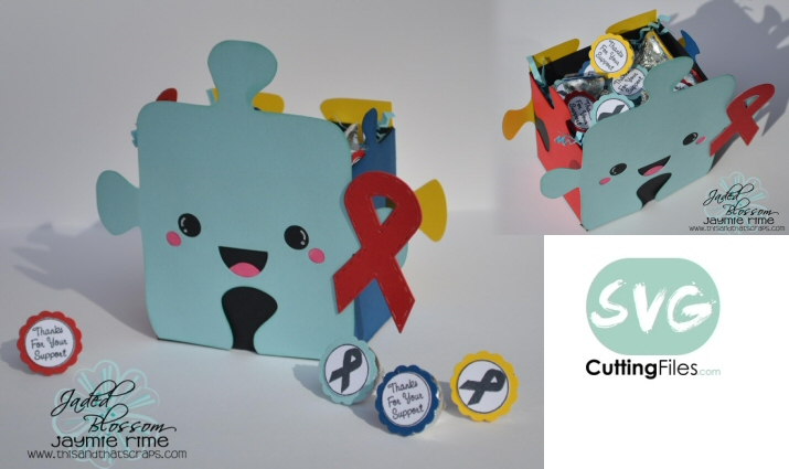 Autism Awareness Puzzle Box
