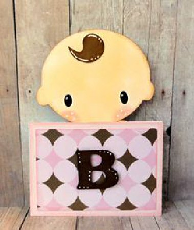 Baby Block Slider Card