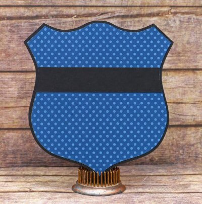 Badge Shaped Card