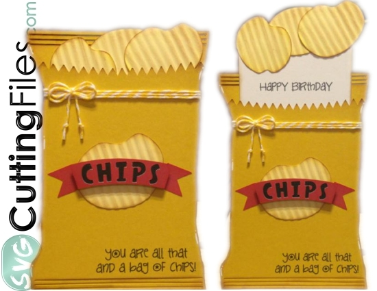 Bag of Chips Slide Card