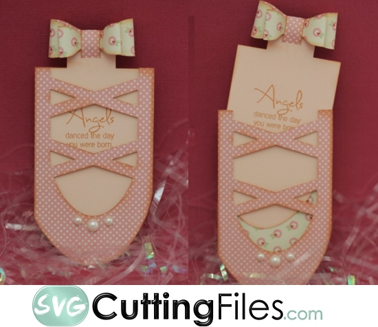 Ballerina Slipper Slide card