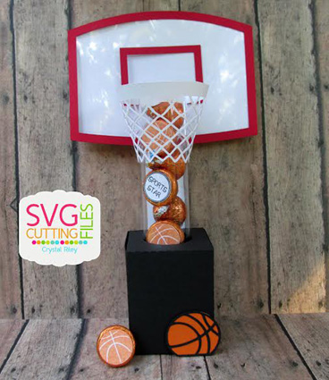 Basketball Tube Holder