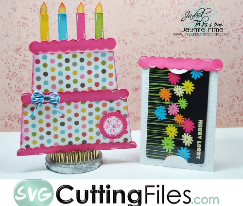 Birthday Cake Slider Card