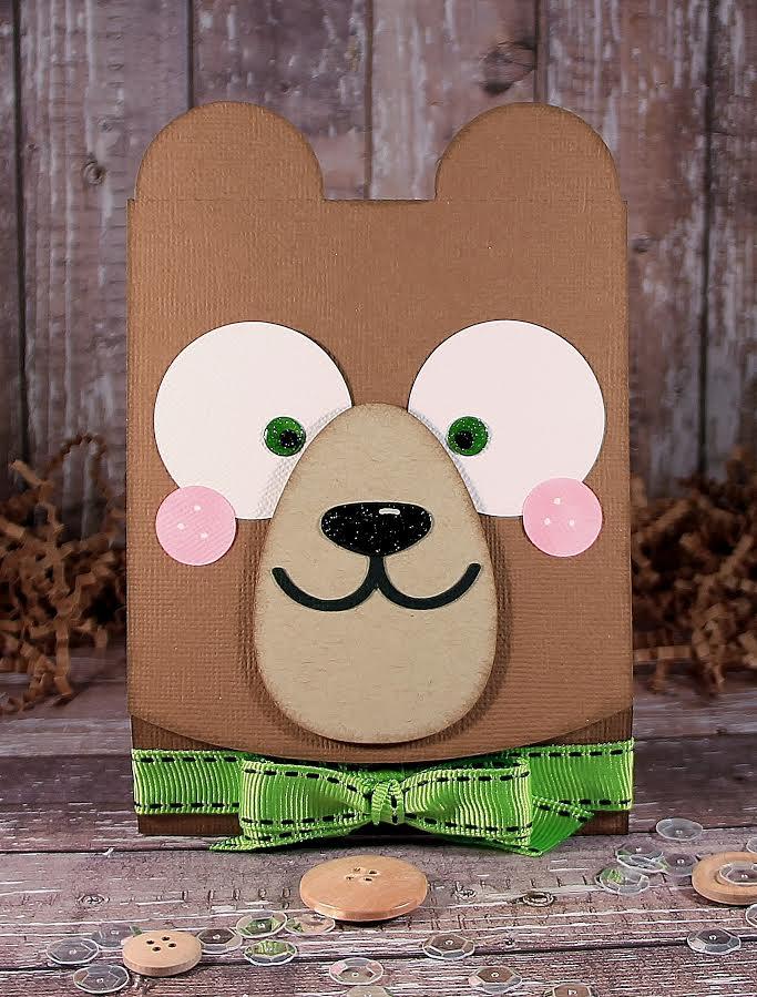 Bear Flip Card