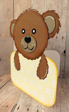 Bear Shaped Card