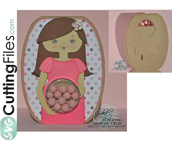 Belly Treat Cup Card