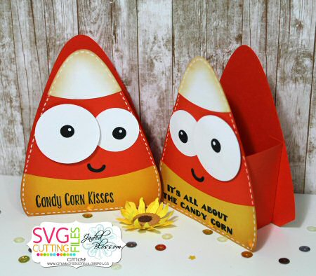 Big Eye Candy Corn Box