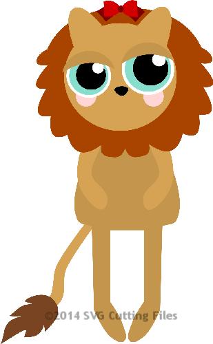 Big Eye Oz - Lion