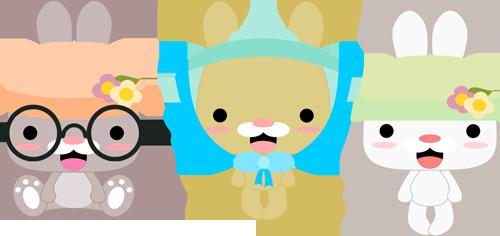 Bonnet Bunnies