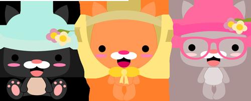 Bonnet Kitties