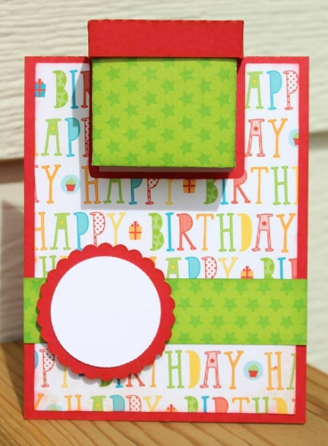 Box Inside Card