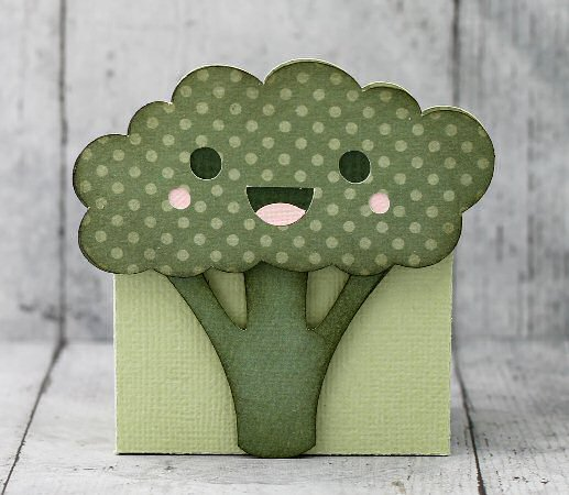 Kawaii Broccoli Box