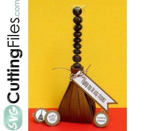 Broom Candy Stick