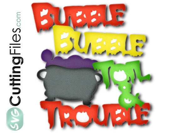 Bubble Bubble Toil and Trouble