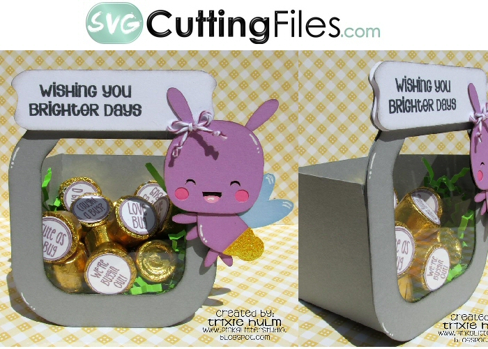 Kawaii Bug Jar Box