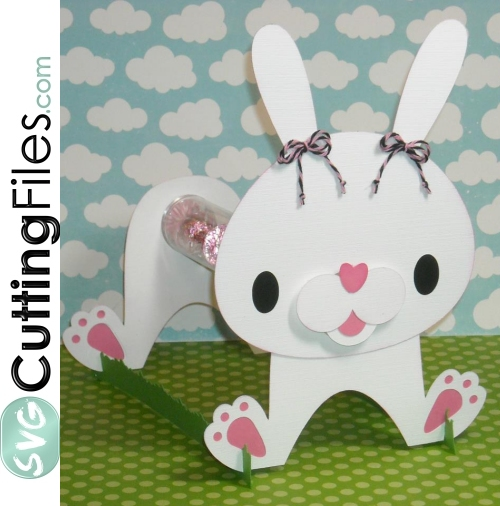 Bunny Candy Tube Holder