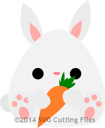 Bunny with carrot