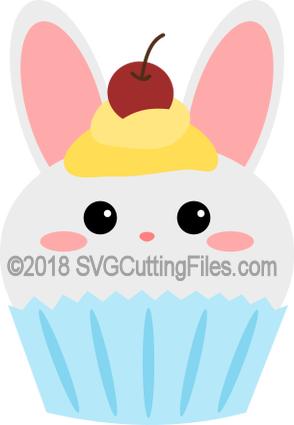 Bunny Cupcake 2018