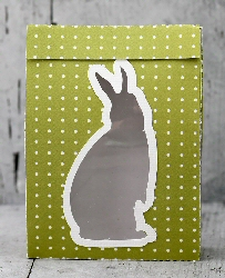 Bunny Cut Out Fold Over Sack