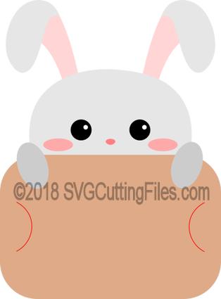 Bunny Gift Card Peeker