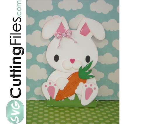 Bunny Shaped Card