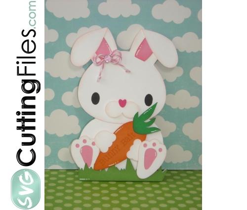 Bunny Shaped Card
