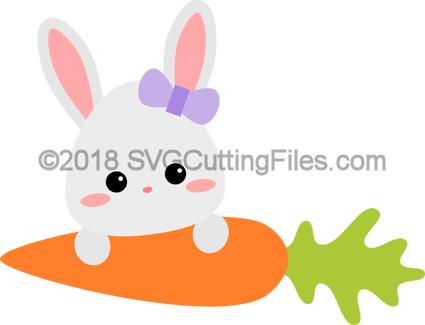 Bunny on Carrot