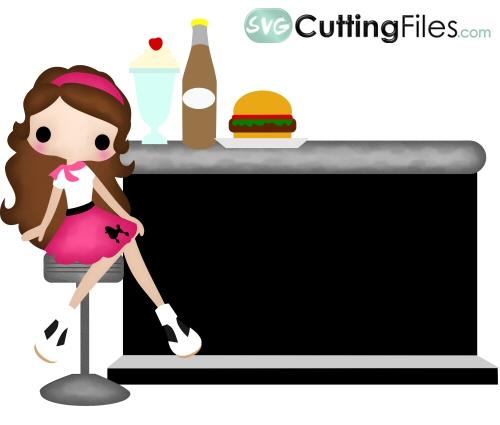 Burgerstand Britney 50s Girl