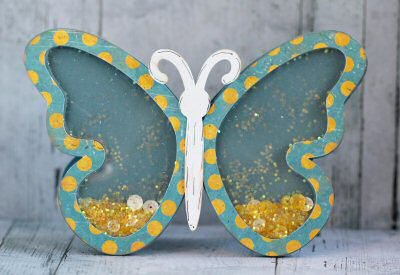 Butterfly Shaker Card Kit
