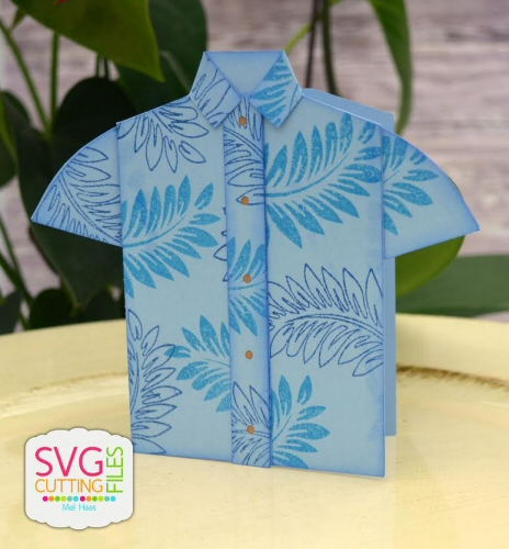 Button Down Shirt Card